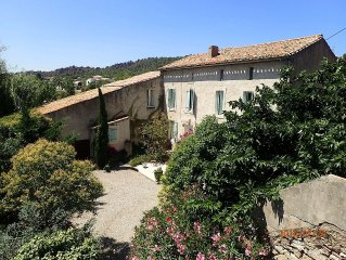Beautiful traditional french house with self contained Gite and pool
