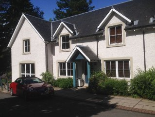 Duck Pond Lodge near Gleneagles is located on the beautiful Ducally Country Esta