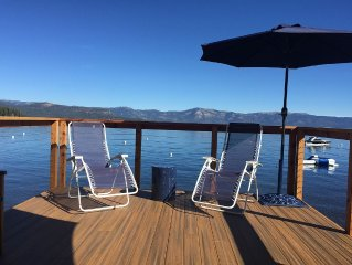 NEW LISTING - 5 BR Lakefront Home with Pier and Buoy