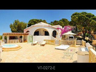 Ibiza Villa near the Beach With 225 Degrees Sea Views.