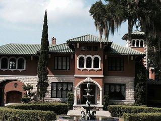Riverfront Mediterranean Estate On The St. Johns River