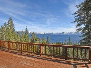 Stunning Lake Tahoe Views In Updated Carnelian Bay Home