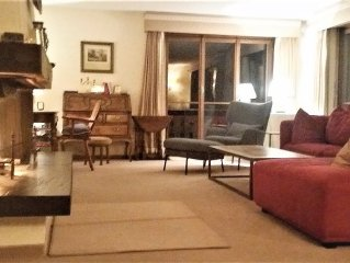 Lovely, spacious & comfortable apartment in central Klosters