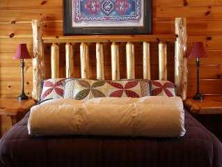 Presidential Suite located at beautiful Hawk's Nest Lodge in West Forks, Maine