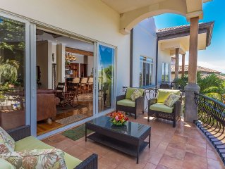 Pristine Villa--Ocean, Mountain & Rainforest Views--Playa Bejuco Beach Area
