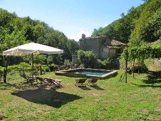 Vacation home Mulino Francesco Saverio  in Pieve a Fosciana (LU), Pisa - Lucca