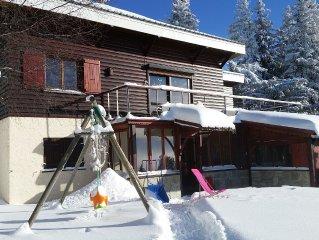 Chamrousse logement indépendant dans chalet, 8 couchages, 70 m², max 6 adultes