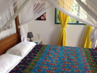 Cosy Cottage, 2 Bed, 2 Bathroom Opposite Kabalana Beach