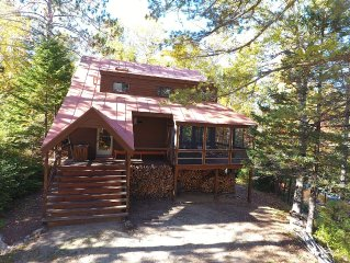 An Architectural Gem In Carrabassett, Minutes To Sugarloaf Mountain!