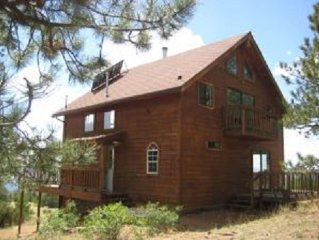 The Views Are Spectacular! 180 Degrees of Mountain Seclusion! Near Cripple Creek