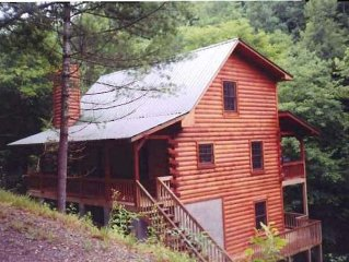 Creekfront Home- Cozy And Private! Tusquittee- Hayesville NC