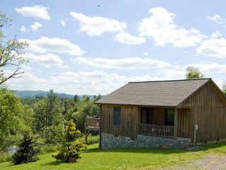Blue Ridge Parkway Log Cabin - Perfect for Couples Getaway or Honeymoon