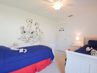Dalmatian Villa - Themed bedrooms for the young and young at heart.