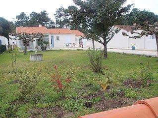 Maison avec WIFI de 80 m2 de plain-pied avec jardin, refaite à neuf