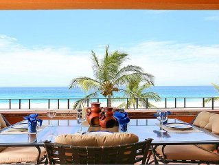 Direct Oceanfront with amazing views in Luxurious and Private 5 star villa!