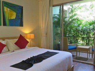 2 Bedroom Tropical Family  Retreat Walk To Kata Beach