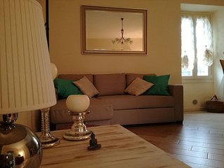 Beautiful apartment in medieval casseggiato in the center of San Felice