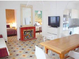T3 (2 chambres), classe *** , WI-FI gratuit,  climatisation, parking