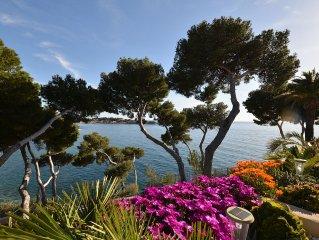 Var Bandol Renecros - exceptionnel - front de mer - acces espace-plage prive