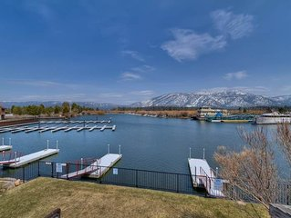 Cozy Tahoe Keys Condo with Pirvate Boat Dock and use of Tahoe Keys Amenities (TK