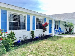 Quaint & Cozy Beach  Home in the Undiscovered Gem Town of Sebastian. From $99.00