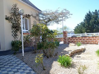 Nice house in Erdeven beachfront, comfortable, south-facing (price includes all