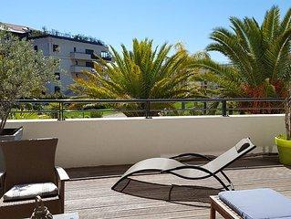 Magnifique appartement dans Residence Haut de gamme a 100m des plages