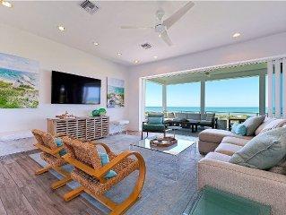 6 Bedroom Luxury Beach Front Estate/breath taking sunset views!