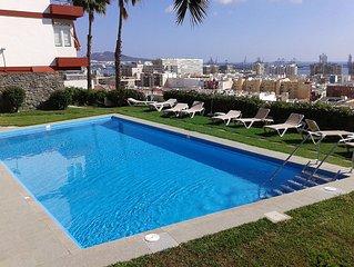 Apartamento con piscina y excelentes vistas