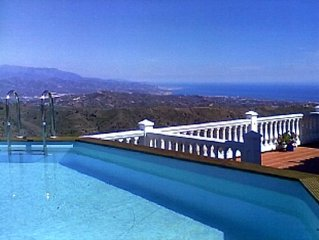 Villa With Private Pool And Spectacular Sea And Mountain Views
