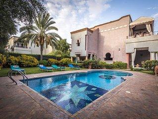 AL YASMINE Luxueuse villa Marrakech