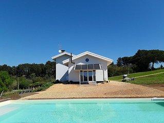 villa a 20 minuti da Roma centro  piscina e cavalli ideale per famiglie numerose