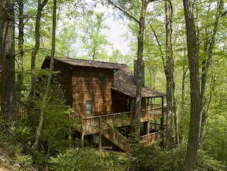 Cabin on the New River - Hiking Trails - Hot Tub - Pool Table - WiFi