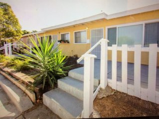 Your Home Away From Home!  10 Minutes to San Diego! Wifi, Kitchen, Pets ok! Kids