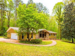 Outstanding 4 Bdrm 3 BA Home In Fayetteville - Privacy Galore On 6.2 Lush Acres