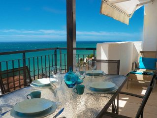 Appartement Penthouse  face mer VUE INCROYABLE 180o wifi Parking Torrox Nerja