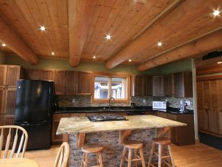 Large Log Home Only Minutes Away from Fernie Alpine Resort