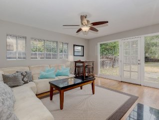 Cozy 2BD House, Minutes From FB and Stanford Univ!