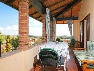 Apartment Loggia del Poggiolo  in Siena, Siena and sourroundings - 4 persons, 2