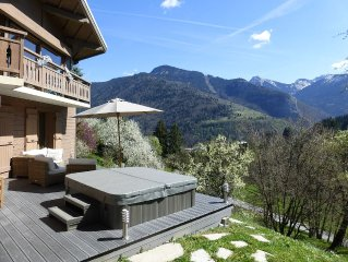 Beautiful Chalet With Fabulous Living Space 12 mins from Morzine