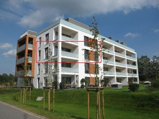 Apartment on the Culture bakery - 3 BR apartment with 97qm near Luneburg downto