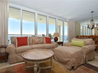 Free Beach Service Included | 3 BR, Gulf-Front Condo | Stunning Views