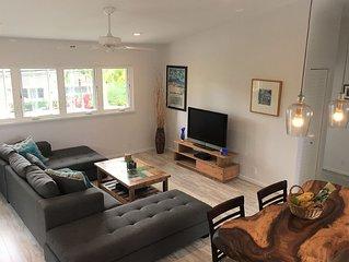 Quiet, Private,  Beachy 2-bedroom,  Walk to Kailua Beach