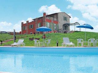 Ferienhaus Villa San Martino  in Santa Luce (PI), Riviera degli Etruschi - 12 Pe