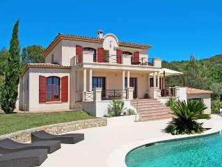 Vacation home in Seillans, Cote d'Azur hinterland - 6 persons, 3 bedrooms