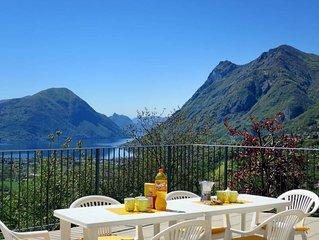 Apartment in Gottro / Carlazzo (CO), Lake Lugano - 6 persons, 3 bedrooms