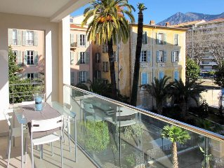 Apartment Residence West Bay  in Menton, Cote d'Azur - 4 persons, 1 bedroom