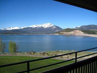 Top O' The World Condo On Lake Dillon, Beautiful Mountain, Lake Views, Pool, He