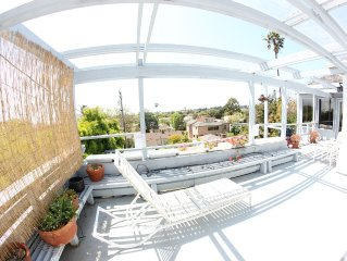 Gorgeous Hilltop View in Centrally Located Upscale Santa Monica Neighborhood