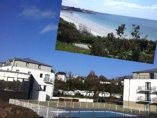 A 50m de la Plage - T2 en residence - Vue mer - Grand standing - Piscine
